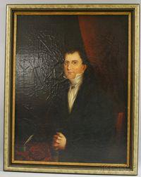 Anglo/American School, 19th Century      Portrait of a Gentleman