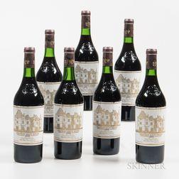 Chateau Haut Brion 1982, 7 bottles
