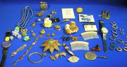 Miscellaneous Lot of Jewelry and Accessories