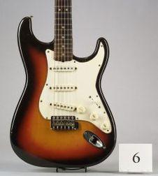American Solid Body Electric Guitar, Fender Musical Instruments, Santa Ana, 1965