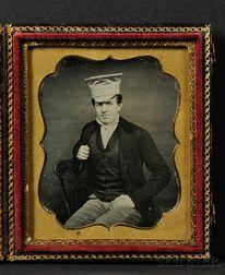 Sixth Plate Daguerreotype of a Dapper Young Man