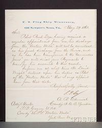 (Civil War, Union Navy), Archive of Commander Samuel Gregory