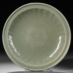 Large Longquan Celadon Dish