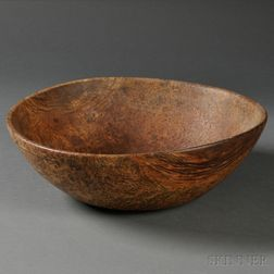 Turned Burl Bowl