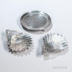 Three Pieces of George III Sterling Silver Tableware