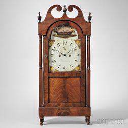 Jacob D. Custer, Mahogany Shelf Clock