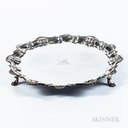 George III Sterling Silver Salver