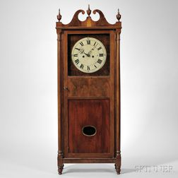 John Albert Mahogany Shelf Clock