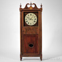 John Albert Mahogany Shelf Clock