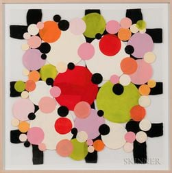 Ellen Rich (American, 20th/21st Century)      Dots and Spots