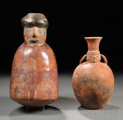 Two Pre-Columbian Vessels