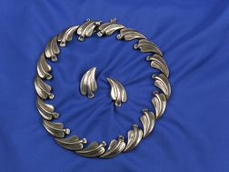Suite of Sterling Silver Mexican Jewelry