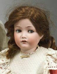 Cuno & Otto Dressel Flirty-Eyed Bisque Head Doll