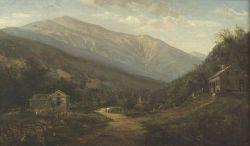 American School, 19th Century  View of Mount Washington.