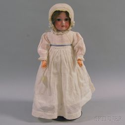 Armand Marseilles 390 Bisque Head Doll