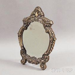 Sterling Silver Framed Mirror