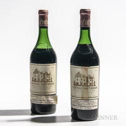Chateau Haut Brion 1961, 2 bottles