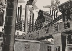 Salvatore Pinto (Italian/American, 1905-1966)      Factory View.