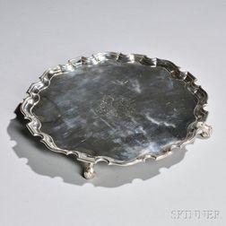 Georgian Silver Salver