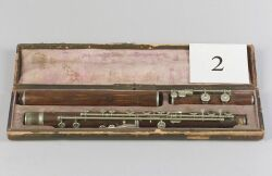 American Flute, William F. Seefeldt, Philadelphia, 19th century