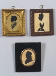 Three Silhouette Portraits