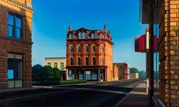 Ed Stitt (American, 20th/21st Century)      ABC Building, Rochesterville