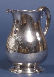 George II Silver Pitcher
