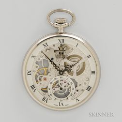 Claude Meylan Skeletonized Pocket Watch