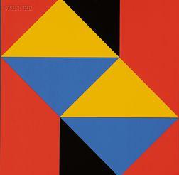 GENTSE KONSTRUKTIEVE KUNST/A Portfolio of Six Works: Jan van den Abbeel (Belgian, b. 1943),P...