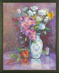 Bob Aiello (Massachusetts, b. 1944), Floral
