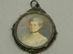 Miniature Portrait on Ivory of Margaret Foote Hawley