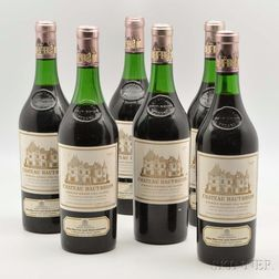 Chateau Haut Brion 1970, 6 bottles