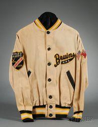 Circa 1940 Boston Bruins Warm-up Jacket