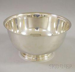 International Sterling Silver Punch Bowl