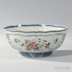 Export Porcelain Punch Bowl