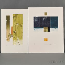 Shinko Araki (b. 1960), Two Aquatint Etchings