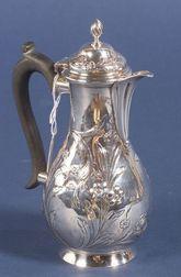 George II Silver Hot Water Pot