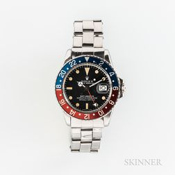 Rolex GMT Master Reference 1675 Wristwatch and Accessories