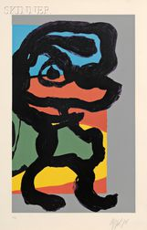 Karel Appel (Dutch, 1921-2006)      Untitled (Figure)