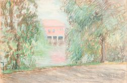 Arthur Clifton Goodwin (American, 1866-1929)      Red Brick
