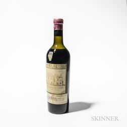 Chateau Haut Brion 1934, 1 bottle