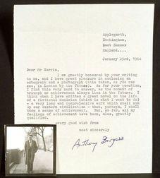 Burgess, Anthony