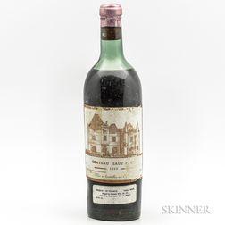 Chateau Haut Brion 1940, 1 bottle