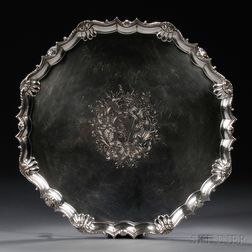 George II Sterling Silver Salver