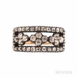 Antique Old Mine-cut Diamond Ring