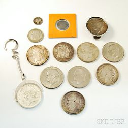 Small Group of Coins
