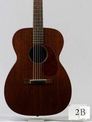 American Guitar, C.F. Martin & Company, Nazareth, 1951, Model 00-17