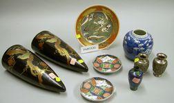 Eleven Pieces of Asian Decorative Arts Items