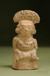 Pre-Columbian Pottery Priestess