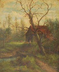 British School, 19th Century      Ranger's Hut, Epping Forest